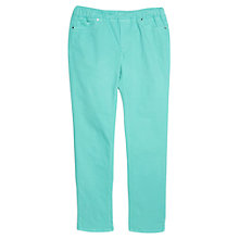 Buy Violeta by Mango Denim Straight Jeggings, Medium Green Online at johnlewis.com