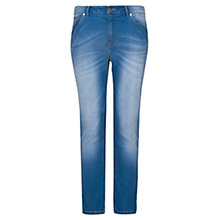 Buy Violeta by Mango Slim-Fit Cali Jeans, Navy Online at johnlewis.com