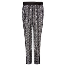 Buy Violeta by Mango Monochrome Printed Trousers Online at johnlewis.com