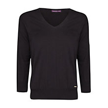 Buy Violeta by Mango Openwork Detail Jumper Online at johnlewis.com