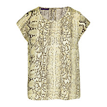 Buy Violeta by Mango Snake Print Blouse Online at johnlewis.com