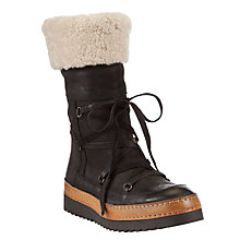 Buy Somserset by Alice Temperley Melbury Leather Calf Boots Online at johnlewis.com