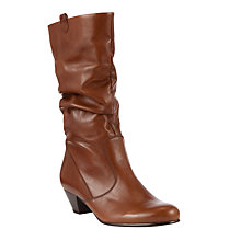 Buy Gabor Rachel Leather Knee High Boots Online at johnlewis.com