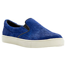 Buy Steve Madden Ecentric Pony Slip On Shoes, Blue Online at johnlewis.com