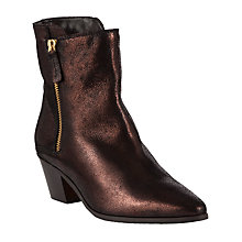 Buy Somerset by Alice Temperley Petersham Leather Ankle Boots Online at johnlewis.com