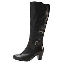 Buy Gabor Anchora Knee Boots, Black Online at johnlewis.com