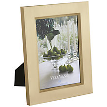 Buy Vera Wang Gold Satin Photo Frame Online at johnlewis.com