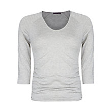 Buy Violeta by Mango Ruched Flecked T-Shirt Online at johnlewis.com