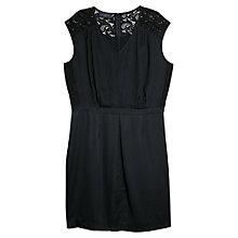 Buy Violeta by Mango Panel Dress, Navy Online at johnlewis.com