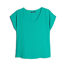 Buy Violeta by Mango Crepe Top Online at johnlewis.com