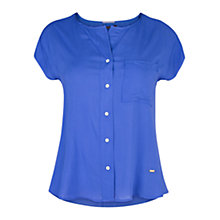 Buy Violeta by Mango Button Blouse Online at johnlewis.com