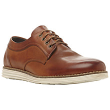 Buy Dune Baycliff Suede Derby Shoes, Tan Online at johnlewis.com