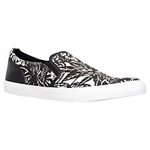 Buy KG by Kurt Geiger Gregory Print Slip On Trainers Online at johnlewis.com