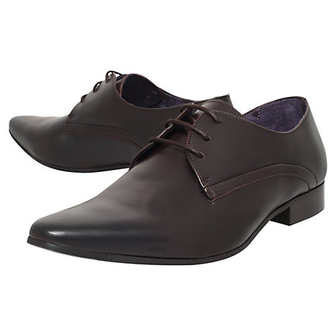 Buy KG by Kurt Geiger Aaron Leather Derby Shoes Online at johnlewis.com