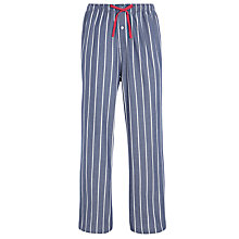 Buy Polo Ralph Lauren Woven Striped Lounge Pants, Denim Online at johnlewis.com
