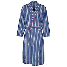 Buy Polo Ralph Lauren Woven Stripe Robe Online at johnlewis.com