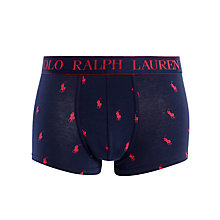 Buy Polo Ralph Lauren Classic PP Trunks, Navy Online at johnlewis.com