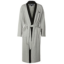 Buy Polo Ralph Lauren Kimono Robe, Grey Online at johnlewis.com