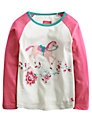 Little Joule Girls' Lucille Horse Top, Pink