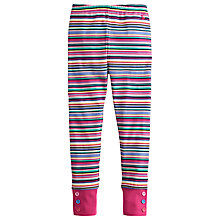 Buy Little Joule Girls' Maylett Leggings, Navy Online at johnlewis.com