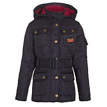 Buy Barbour Girls' Viper Quilt Jacket Online at johnlewis.com