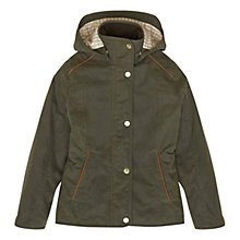 Buy Barbour Girls' Houghton Jacket, Olive Online at johnlewis.com
