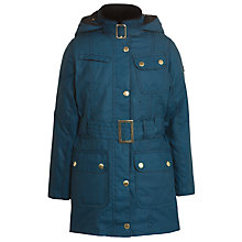 Buy Barbour Girls' Weyhill Jacket, Blue Online at johnlewis.com