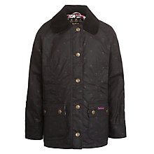 Buy Barbour Girls' Ruby Beadnell Coat, Navy Online at johnlewis.com