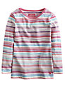 Little Joule Girls' Pickle Multi Striped Top, Multi