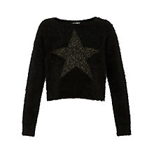 Buy Yumi Girl Star Sparkle Jumper Online at johnlewis.com