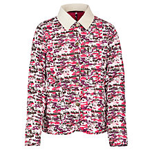 Buy Barbour Girls' Clara Hello Kitty Quilt Jacket, Pink/Multi Online at johnlewis.com