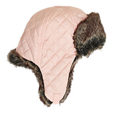 Buy Barbour Girls' Margrove Trapper Hat, Pink Online at johnlewis.com