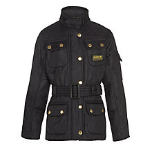 Buy Barbour Girls' International Quilt Jacket Online at johnlewis.com