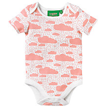 Buy Donna Wilson for John Lewis Baby Cloud Print Bodysuit Online at johnlewis.com
