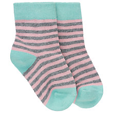 Buy Donna Wilson for John Lewis Baby Stripe Socks Online at johnlewis.com