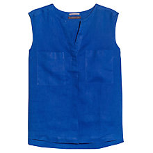 Buy Violeta by Mango Linen Sleeveless Blouse Online at johnlewis.com