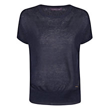 Buy Violeta by Mango Linen-blend Combination Sweater Online at johnlewis.com