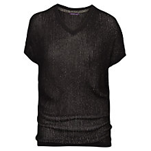 Buy Violeta by Mango Ribbed Jumper Online at johnlewis.com