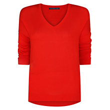 Buy Violeta by Mango Asymmetric Hem Jumper Online at johnlewis.com