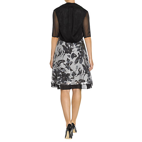 Buy Adrianna Papell Twist Back Tulle Bolero Online at johnlewis.com