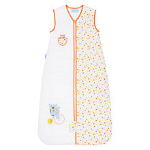Buy Grobag Peek-A-Boo Baby Travel Bag, 2.5 Togs, White/Orange Online at johnlewis.com
