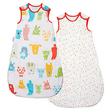 Buy Grobag Spotty Bear Baby Sleep Bag, 2.5 Togs, Pack of 2, Multi Online at johnlewis.com