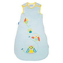 Buy Grobag Fly-A-Kite Sleeping Bag 3.5 Tog, Blue Online at johnlewis.com