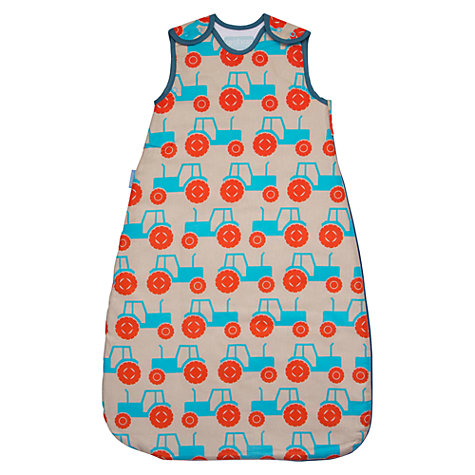 Buy Grobag Anorak Tractors Baby Sleep Bag, 2.5 Togs, Multi Online at johnlewis.com