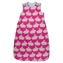 Buy Grobag Anorak Rabbits Baby Travel Bag, 2.5 Togs, Pink Online at johnlewis.com