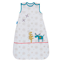 Buy Grobag Mr Moose Sleeping Bag 3.5 Tog, White/Multi Online at johnlewis.com