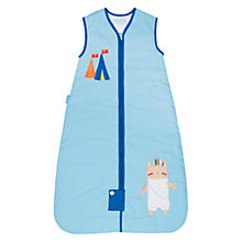 Buy Grobag Little Chief Baby Sleeping Bag, 2.5 Togs, Blue Online at johnlewis.com