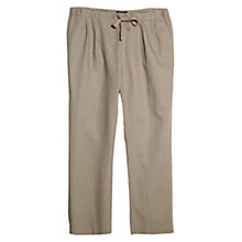 Buy Violeta by Mango Cotton-Linen Trousers Online at johnlewis.com
