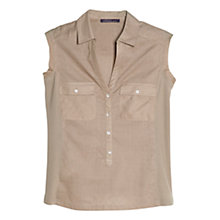 Buy Violeta by Mango Cotton Plumeti Blouse Online at johnlewis.com