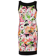 Buy Chesca Carnival Wave Print Border Dress, Multi Online at johnlewis.com